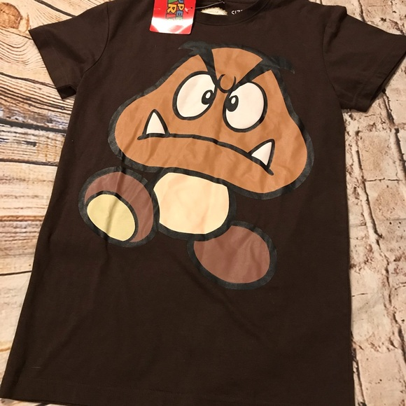 Nintendo Other - HTF Super Mario Brothers Brown Goomba T-Shirt
